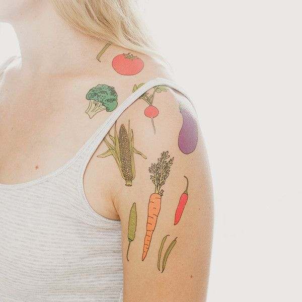 Tattly Vegetable Set
