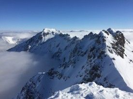 Winter im Allgäu - eine Zwischenbilanz - Bergtouren und Biketouren im Allgäu