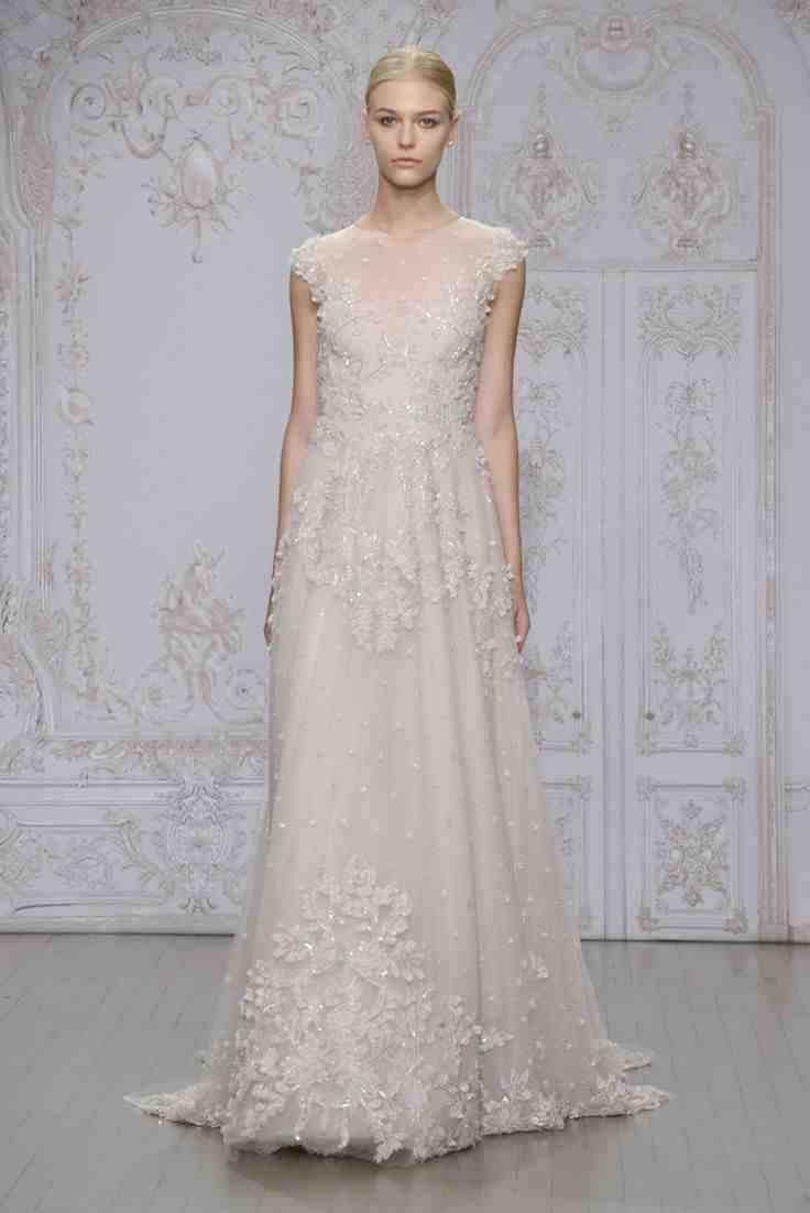12 best monique lhuillier wedding dresses images on for Used short wedding dresses