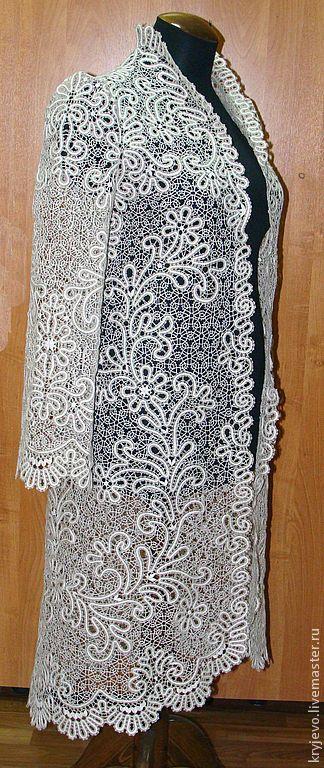 vologda lace coat