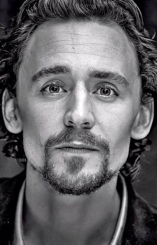 Tom Hiddleston - I really do like Tom with a goatee ;). He Looks so good with…