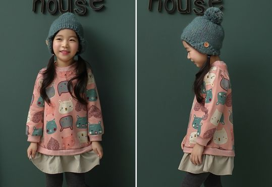 Korea children's No.1 Shopping Mall. EASY & LOVELY STYLE [COOKIE HOUSE] Animal Bubble One Piece / Size : 5-13 / Price : 31.55 USD #dailylook #dailyfashion #fashionitem  #kids #kidsfashion #top #longT #TEE #MTM #dress #onepiece #skirt  #COOKIEHOUSE #OOTD http://en.cookiehouse.kr/ http://cn.cookiehouse.kr/ http://jp.cookiehouse.kr/