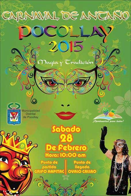 Carnaval de Antaño Pocollay 2015