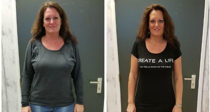 Linda -13 kg: Ik ben afgevallen, ik kan weer soepel beweging en heb veel minder pijn.