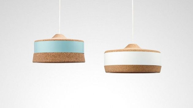 Kork Tables and Lighting by Twodesigners