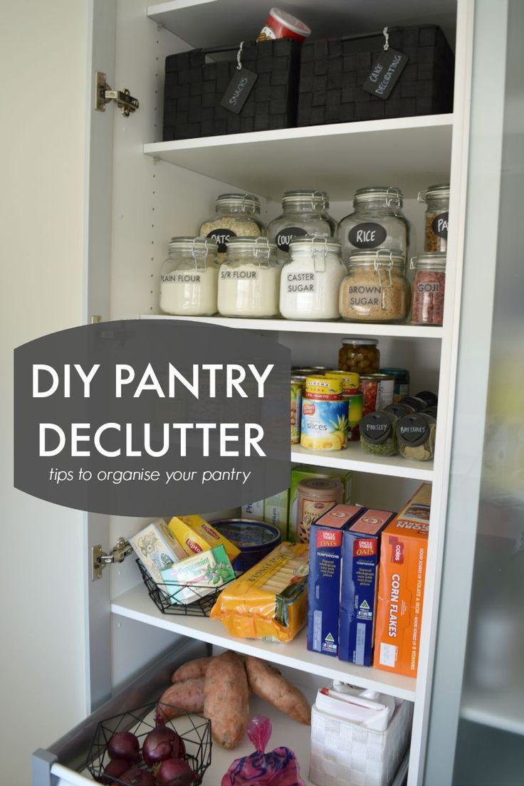 Diy Pantry Declutter Tips To Organise Your Pantry