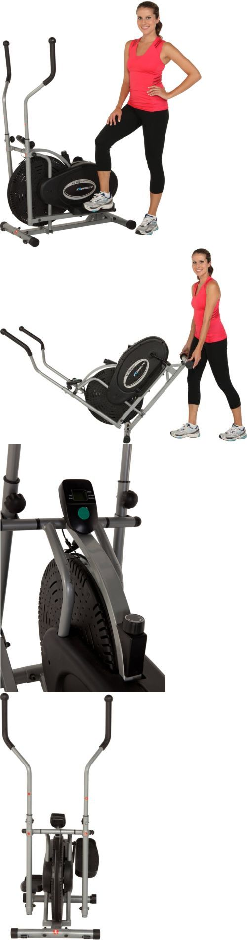Ellipticals 72602: Exerpeutic Air Elliptical Workout Exercise Bike Fitness Trainer Home Gym Machine -> BUY IT NOW ONLY: $101.08 on eBay!
