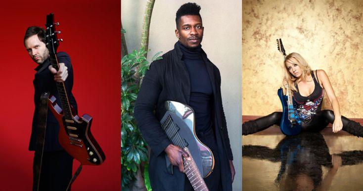 Guitar Workshop Plus Announces 2018 Program Including Guest Artists Paul Gilbert, Tosin Abasi and Nita Strauss