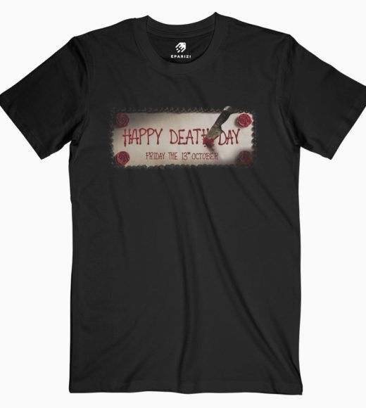 Halloween Movie Happy Death Day Teaser Tees