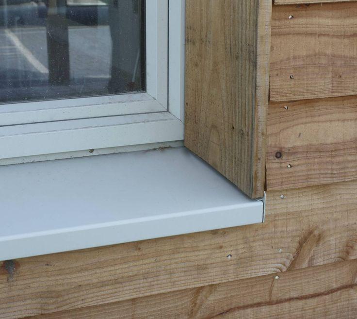 Passivhaus window reveal detail