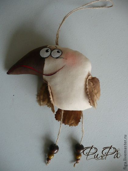 """Сказочные персонажи ручной работы. Ярмарка Мастеров - ручная работа Интерьерная игрушка """"А может быть ворона"""". Handmade."""