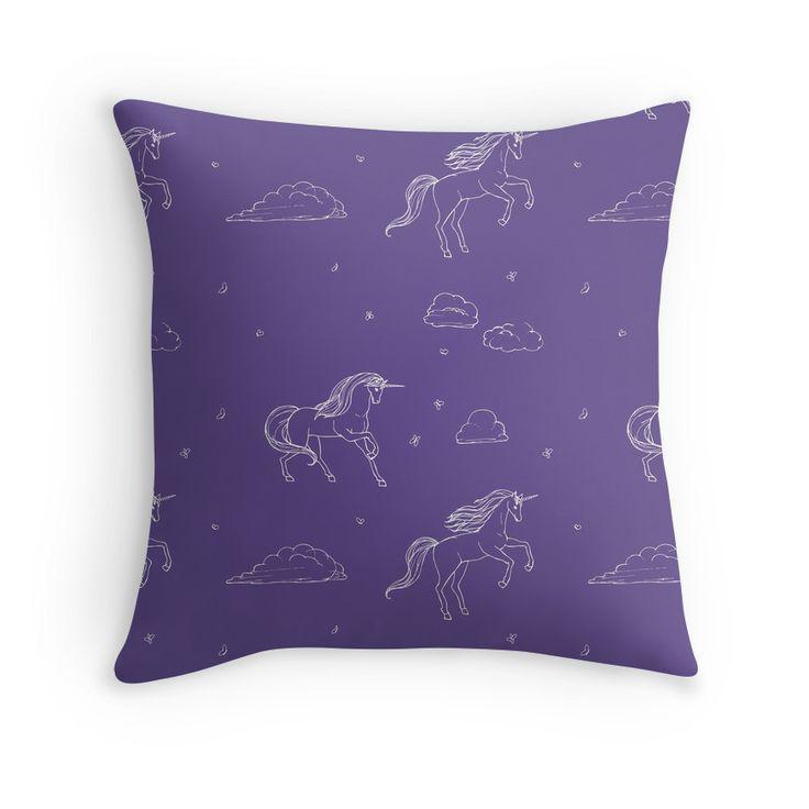 purple unicorn  CUSHION from LA LA LAND from £25