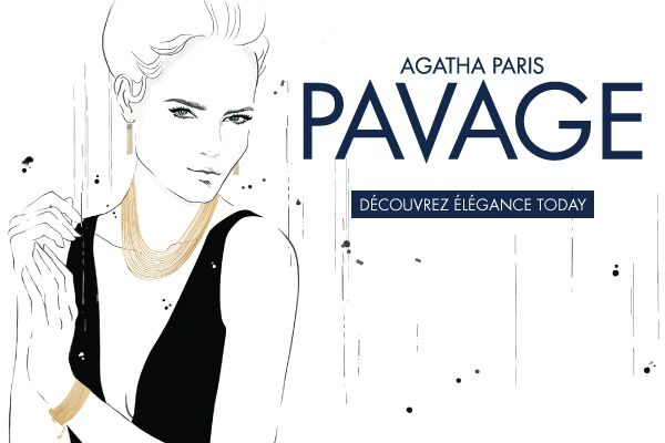PAVAGE - a collection of classic, feminine, luxurious and elegant jewellery from AGATHA Paris.