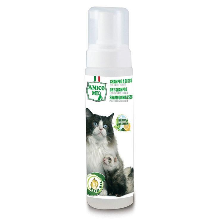 MA-FRA Shampoo a secco per gatti e furetti 250ml pulizia senza acqua LAM012