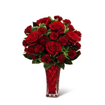 #bowmanvilleflowers #valentinesday #giftideas #roses #red #love #sparkleroses #chocolatecoveredstrawberries #teddy #bear The FTD® Sweethearts® Bouquet | Bowmanville, Courtice, Newcastle, Oshawa, Whitby Flower Delivery