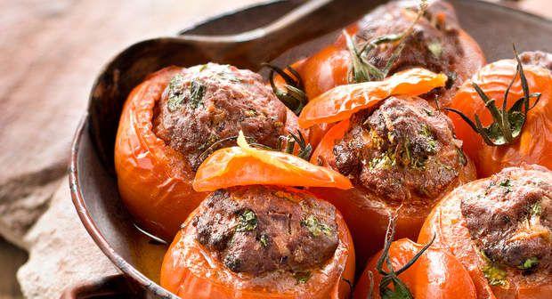 Tomates Farcies au boeuf hachéVoir la recette des Tomates Farcies au boeuf haché >>