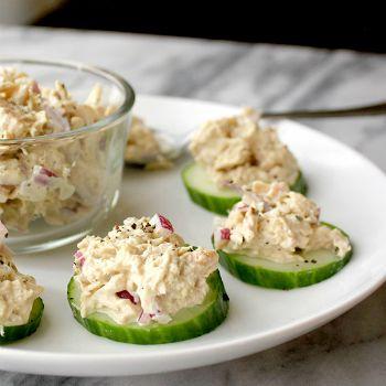 Tonijnsalade met zelfgemaakte mayonaise ♥ Foodness - good food, top products, great health