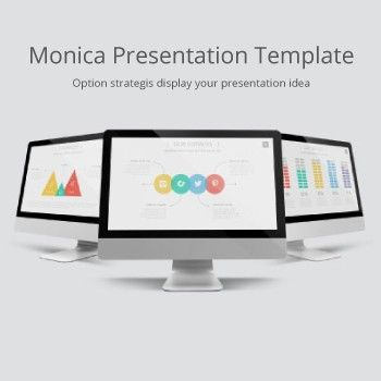 Monica Presentation Template Your idea deserves to be heard. Monica Multipurpose Business Powerpoint Template is Impressive tool for presenting your company and your works. The current presentation enables its owners to work way faster and easier than ever before. If you are striving to present in a brilliant way and to amaze the audience with your work, you necessarily need this product.