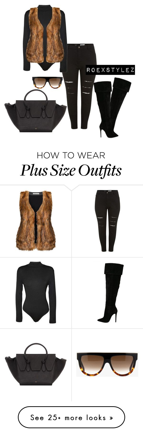 """""""+"""" by style-ish on Polyvore featuring WearAll, Studio and CÉLINE"""