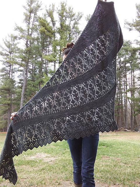 Milk Thistle Shawl Pattern By Nat Raedwulf Crochet Shawl