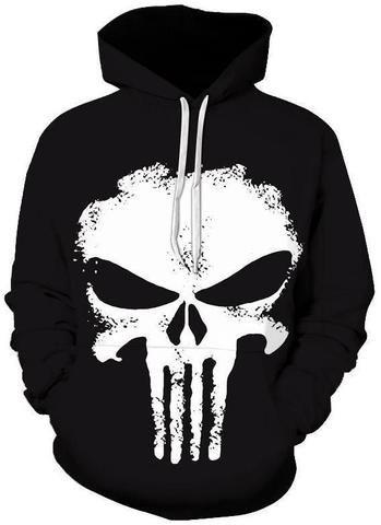 1b3ff370a7 Moletom Punisher Hoodies