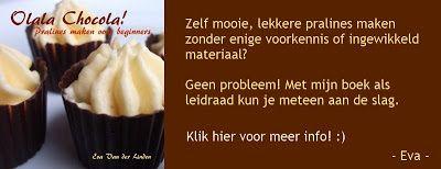 """Eva's Smulhuisje: Chocolaatjes met studentenhaver (+ het correct """"te..."""