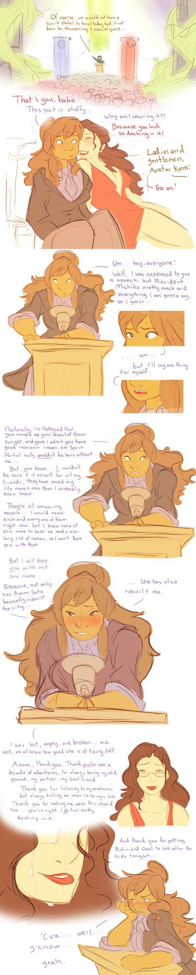 10 Years Later (Korrasami Month 2016) by ChoralSeashelle