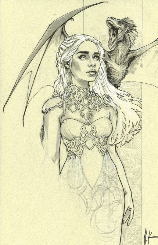 Image result for game of thrones dragon drawing