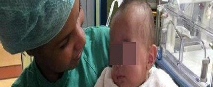 NOCERA INFERIORE: La fiaba a lieto fine di Aurora nata a cinque mesi, ora è salva