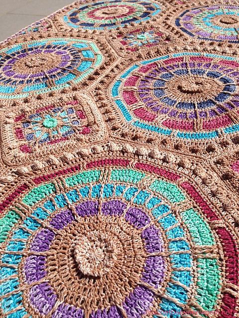 Mosaic Crochet Afghan Pattern : 117 Best images about Persian/Turkish/Marocan Tile Crochet ...