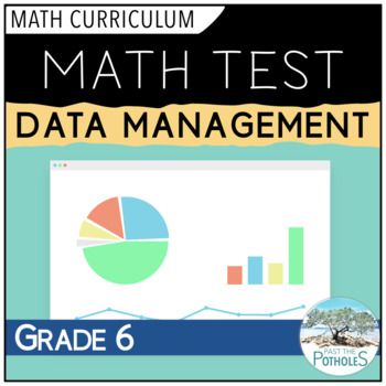 Data Management Unit Test #math #assessment #summative #unit #test #data #management #graphing #grade #6 #curriculum #ontario #teaching #learning #achievement #categories