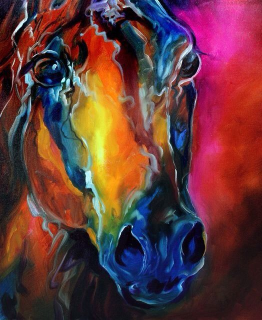 Marcia Baldwin 2010 ~ A Horse Of Many Colours