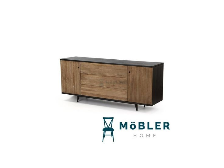 Komoda California antracitová - Möbler