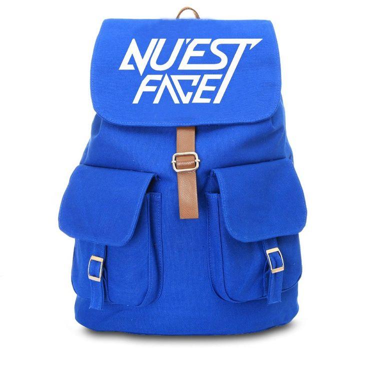KPOP NU'EST  Schoolbag Backpack