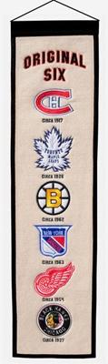 NHL Original Six pennant