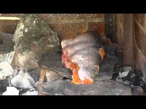 Primitive Skills: How to roast a fish and other things over a fire