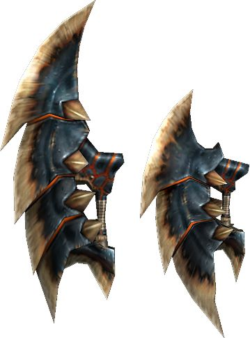 Akantor Shadow Claws - The Monster Hunter Wiki - Monster Hunter, Monster Hunter 2, Monster Hunter 3, and more