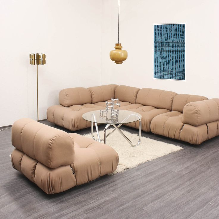 mario bellini camaleonda sectional sofa for b b italia. Black Bedroom Furniture Sets. Home Design Ideas