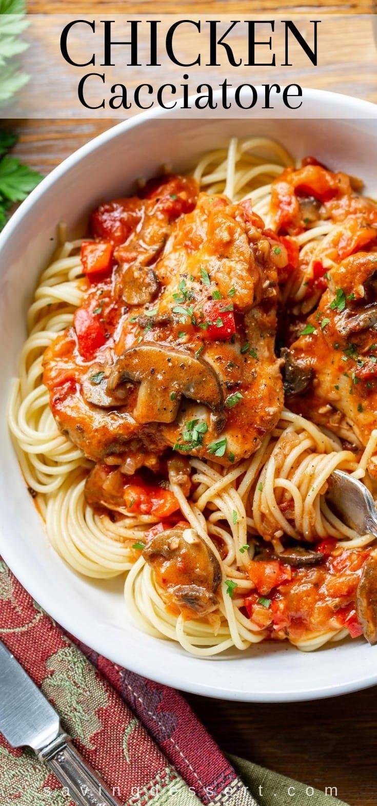 Chicken Cacciatore Recipe Recipe Italian Recipes Cacciatore Recipes Chicken Cacciatore Recipe