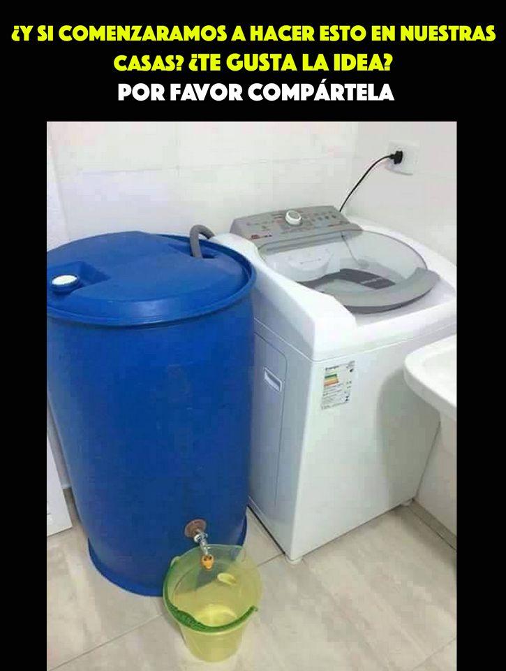 Ahorro de agua.