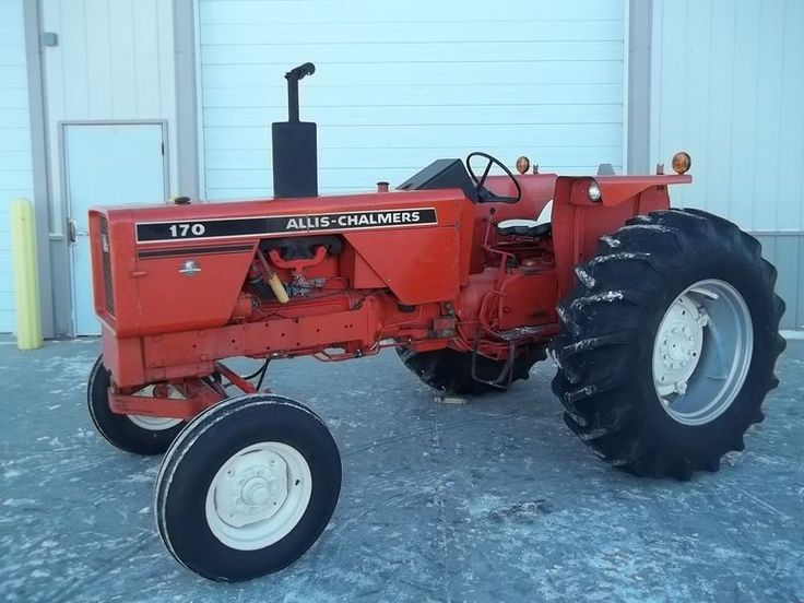 Allis 170 Misc Old Farm Tractors Allis Chalmers