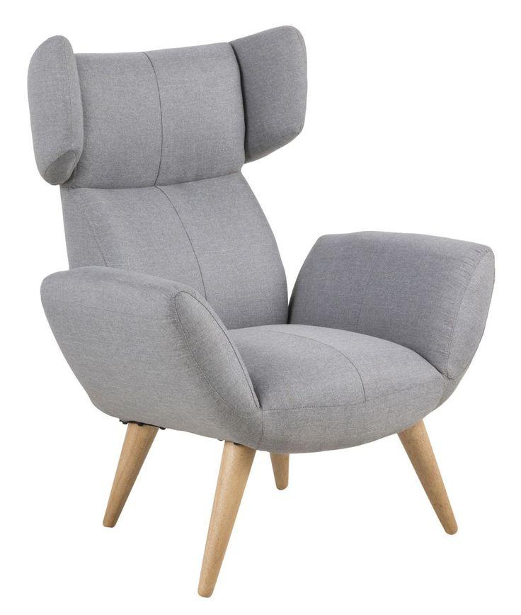 Baako fauteuil grijs - Robin Design