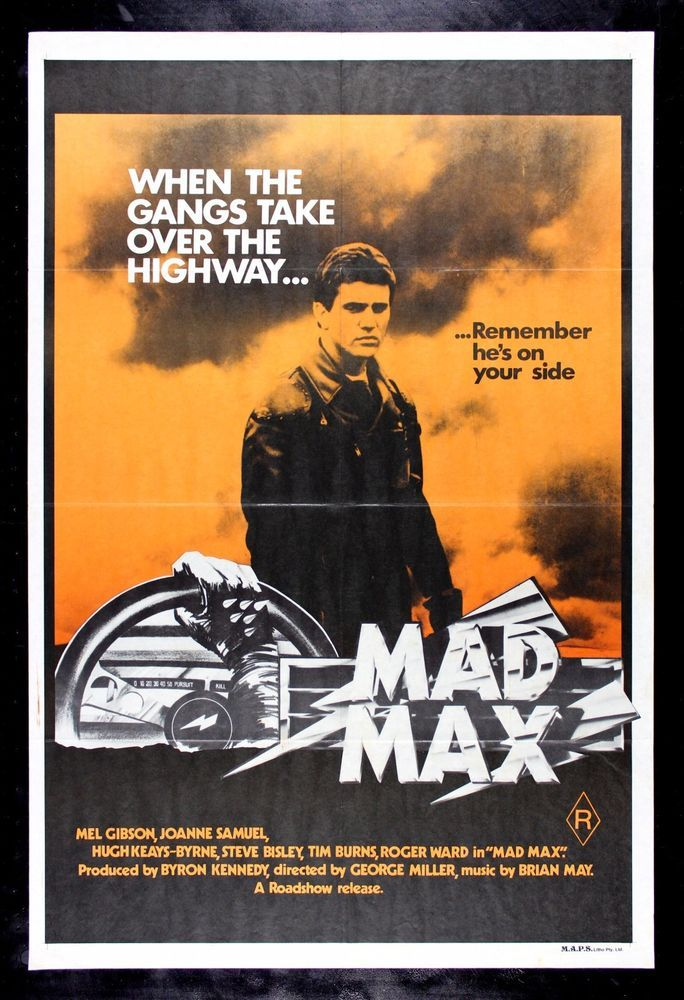 Mad Max 1979 Movie Retro Vintage Awesome Art Giant Wall Print POSTER