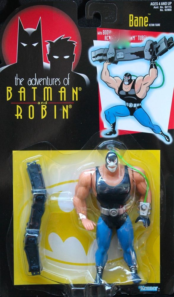 "BANE' Batman and Robin Action Figure 5"" 'Adventures of Body Slam Arm 1995 Kenner #Kenner"