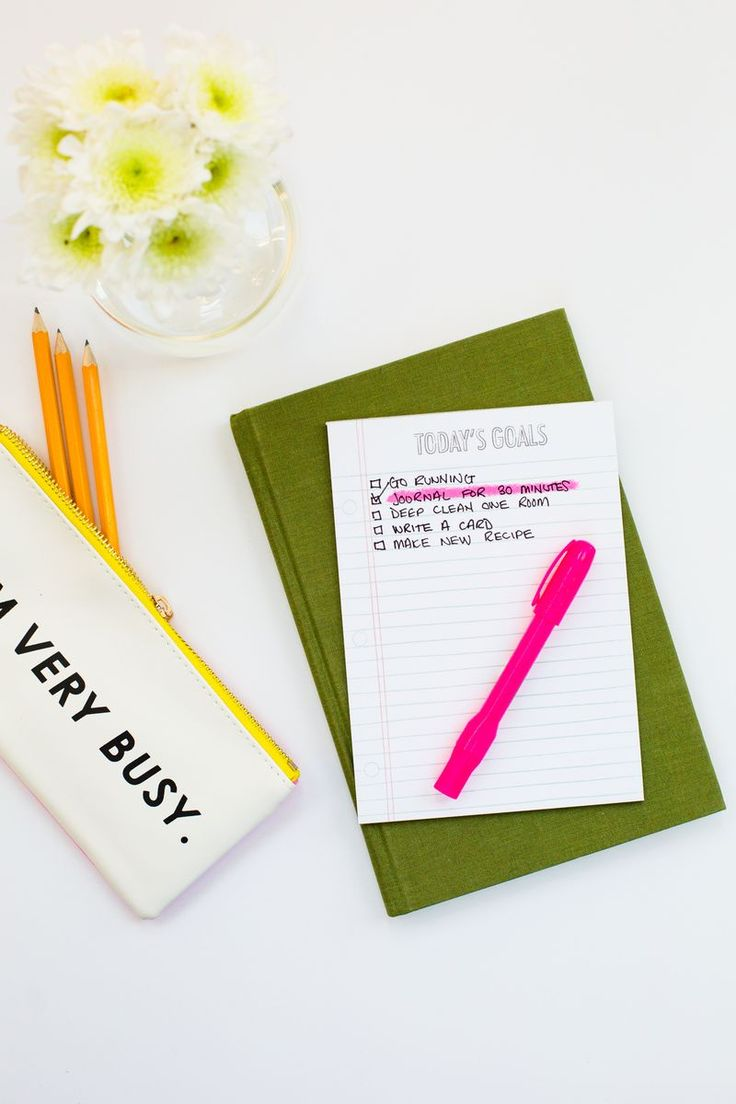 use motivational lists to reach goals!