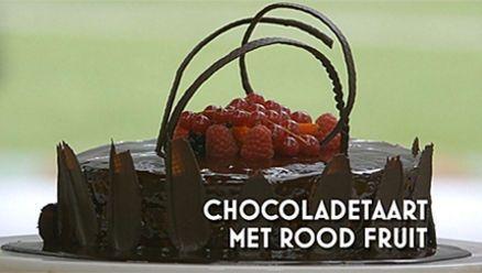 Recept  - Heel Holland Bakt: Chocoladetaart met rood fruit - met Zonnigfruit