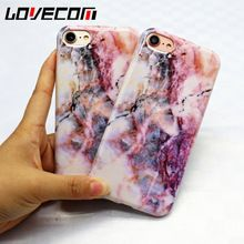 LOVECOM Marble Rock Stone Pattern Texture Rear Cover Case for Apple iphone 6 6 S 6 Plus 6 SPlus IMD tpu Phone Case (China (Mainland))