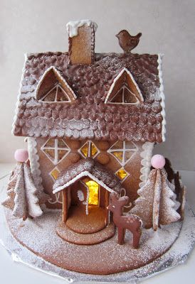 Piparinen maalaistalo. Gingerbread house.