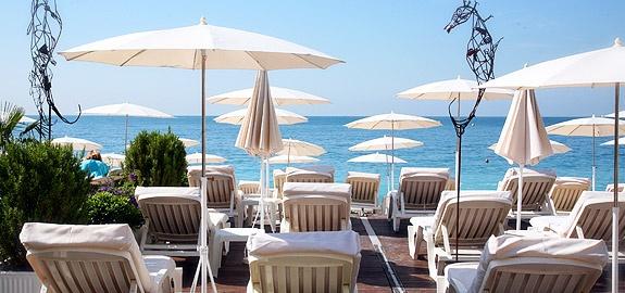 beau rivage - private beach/sunday brunch