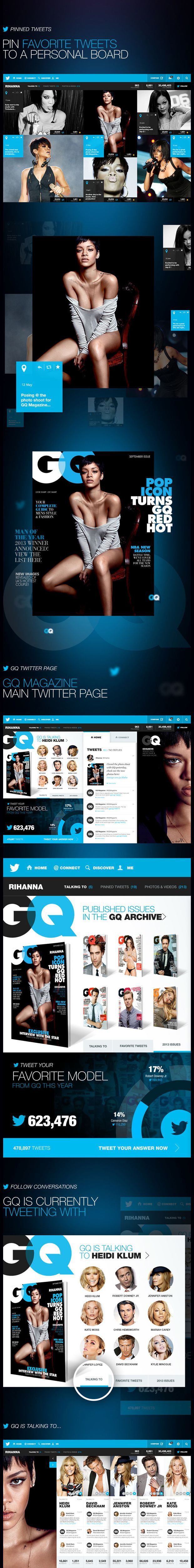 Twitter 5 Incredible Twitter Redesign | Concept